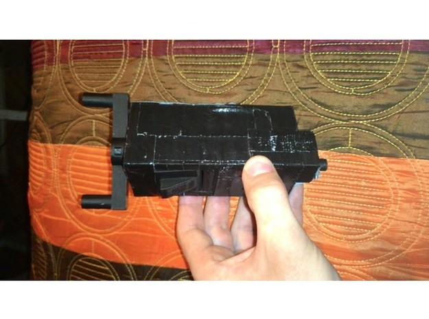 Airsoft Speedloader in Black Strong & Flexible