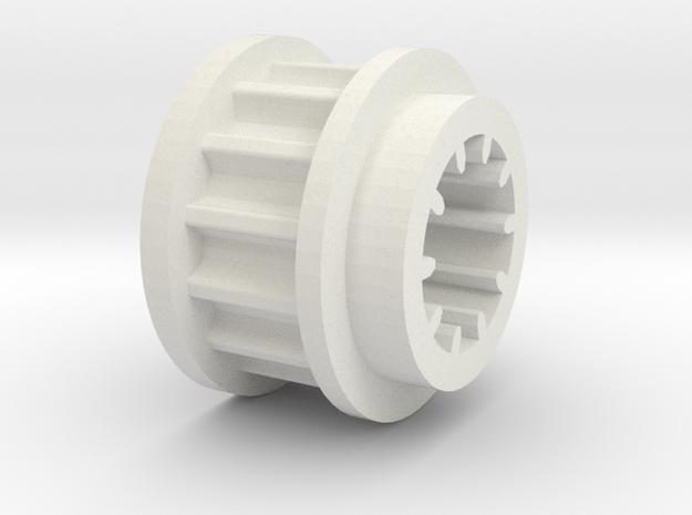 LA-11-R in White Natural Versatile Plastic