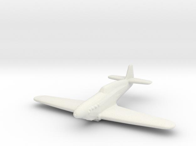 Rogožarski IK-3 in White Natural Versatile Plastic: 1:200