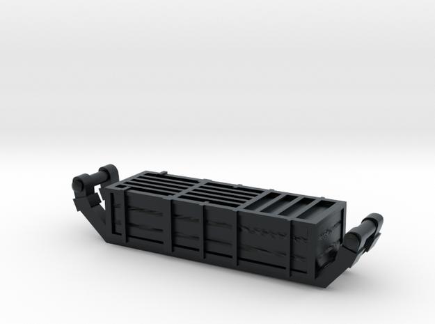 Bavarian Wurst Wagon Ammo box in Black Hi-Def Acrylate