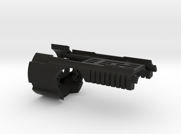 Main Chassis for KorbanthDV6 (Igniter/Spark 2/SC2) in Black Natural Versatile Plastic