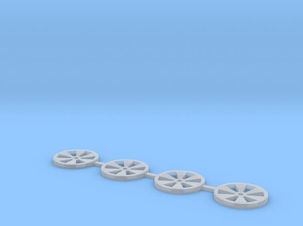 Rim insert V3 in Smooth Fine Detail Plastic