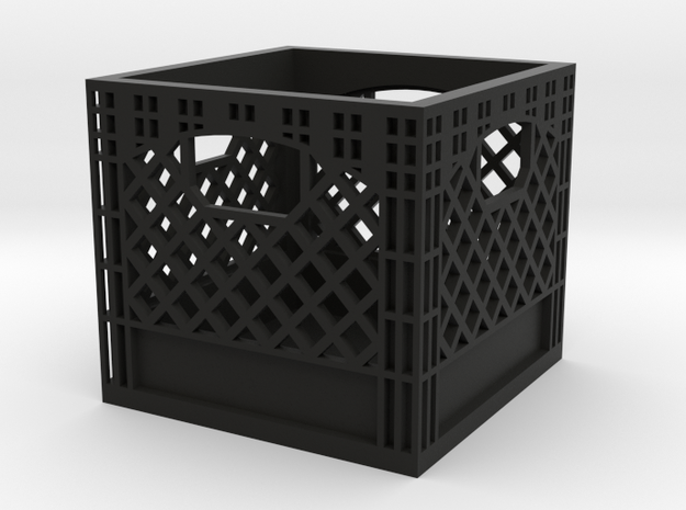 Milk Crate 1/10 Scale RC Drift  in Black Natural Versatile Plastic