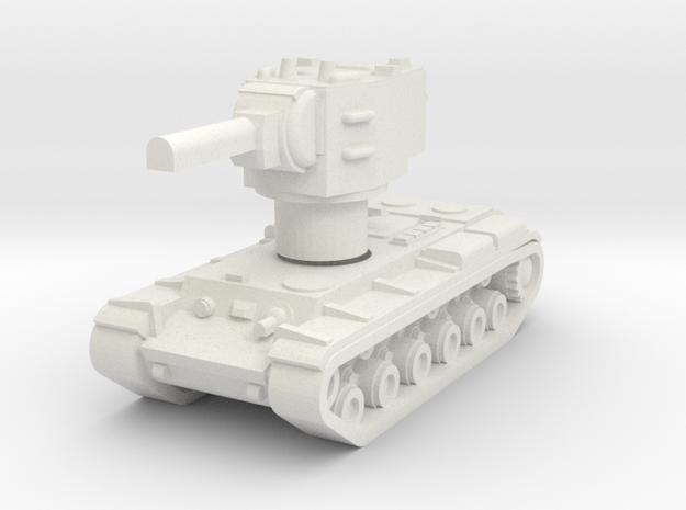 KV2 Rotatable turret in White Natural Versatile Plastic