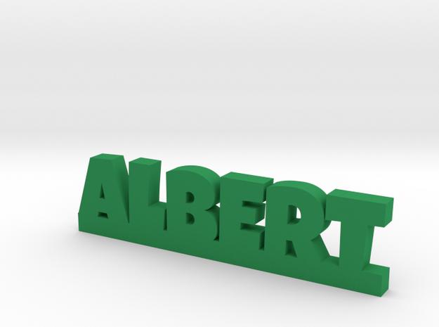 ALBERT Lucky in Green Processed Versatile Plastic