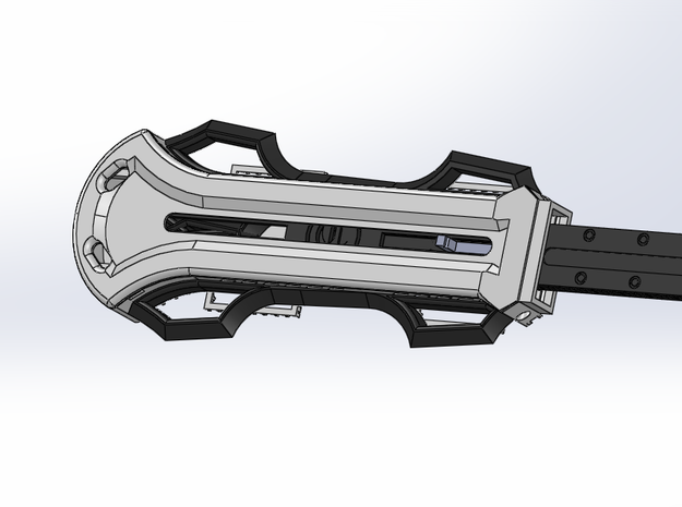 Bracer Attachments for Hidden Blade