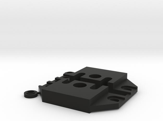 458-459 Motor Mount Block in Black Strong & Flexible