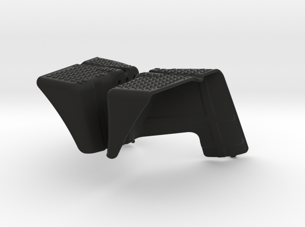 Axial Wraith Inner Fenders - Front in Black Natural Versatile Plastic