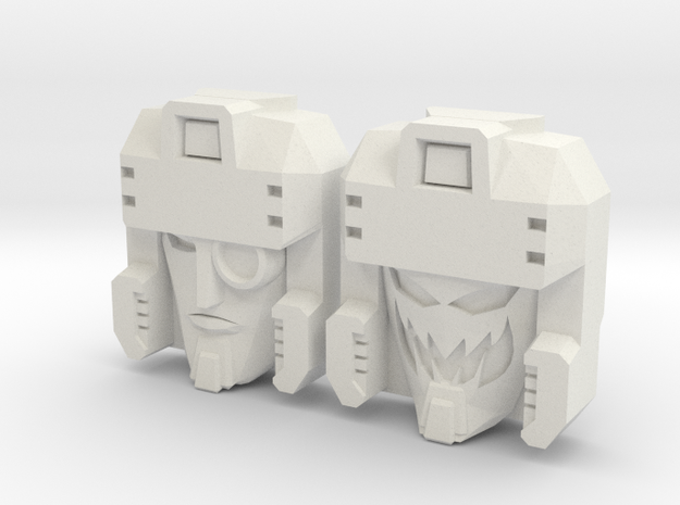 Blitzwing Icy/Random 2-Pack (Titans Return) in White Natural Versatile Plastic