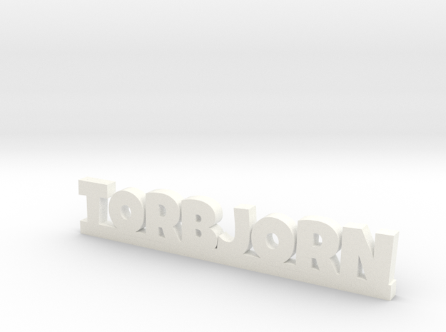 TORBJORN Lucky in White Processed Versatile Plastic