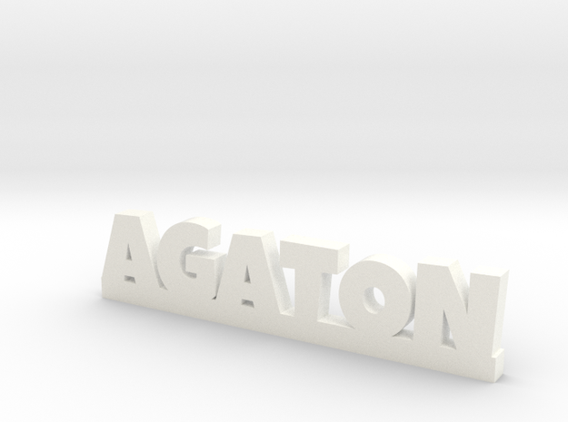 AGATON Lucky in White Strong & Flexible Polished