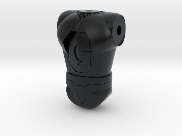 Ginormo Torso 120 in Black Hi-Def Acrylate
