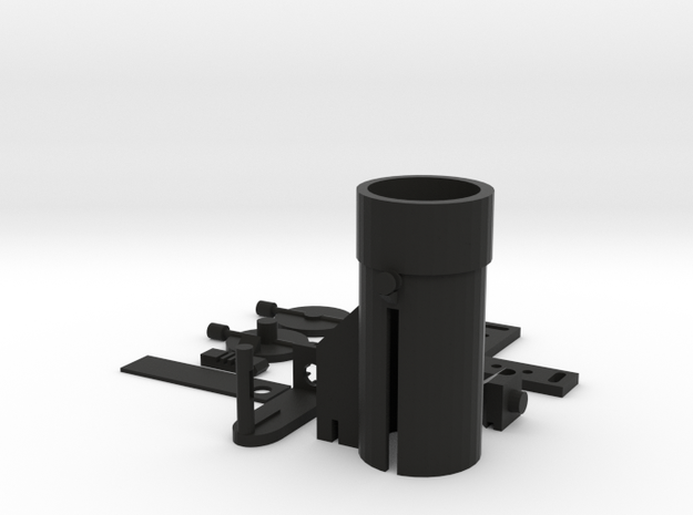 Nerf Compatible Land Mine in Black Natural Versatile Plastic