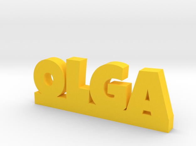 OLGA Lucky in Yellow Processed Versatile Plastic