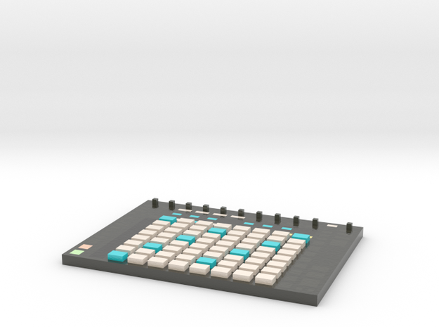 Ableton Push 2 -- Melody View -- Voxel Miniature