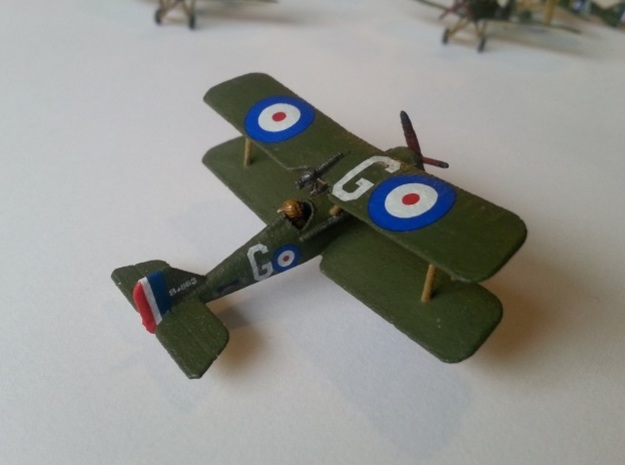 1/144 RAF SE5a x2 3d printed Painted model with pilot model added