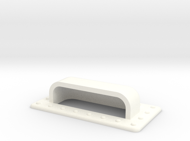 Seaking 25 X 7 Air Vent in White Processed Versatile Plastic