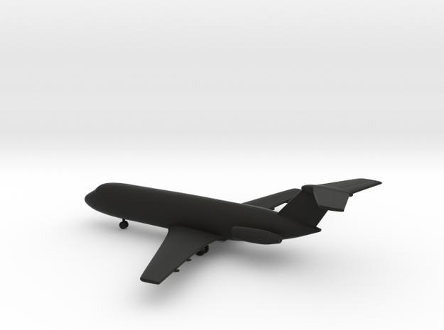BAC-111 (British Aircraft Corporation One-Eleven) in Black Natural Versatile Plastic: 1:350
