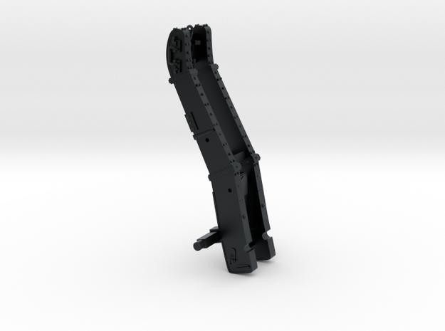 Bavarian Manson 12pdr Gun Carriage in Black Hi-Def Acrylate