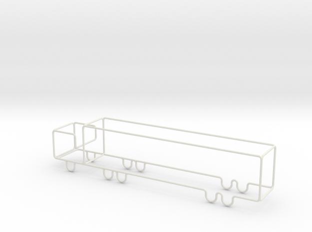 Transporter Big scale 1-500 in White Natural Versatile Plastic: 1:500