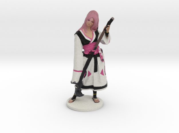 Baiken Figurine in Full Color Sandstone