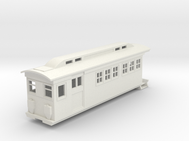 On30 Doodlebug/Railmotor Lindsay3a in White Strong & Flexible