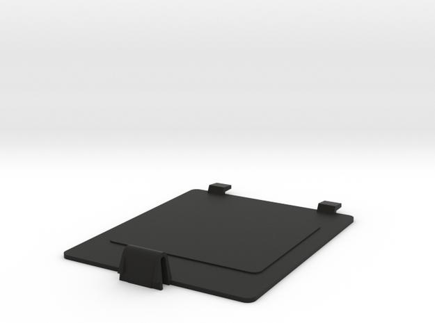 IR Printer Battery Door R2 in Black Natural Versatile Plastic