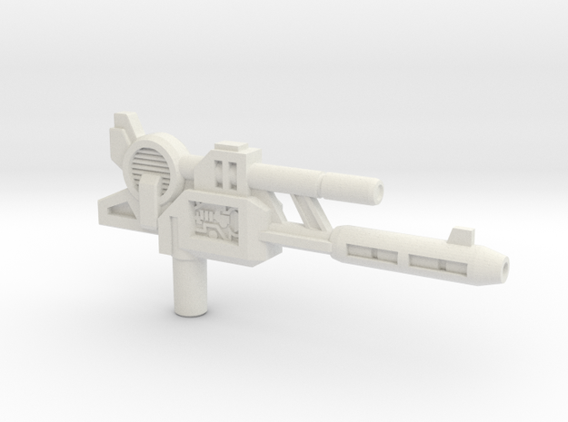 Cerebros/Grand Gun, 5mm in White Natural Versatile Plastic
