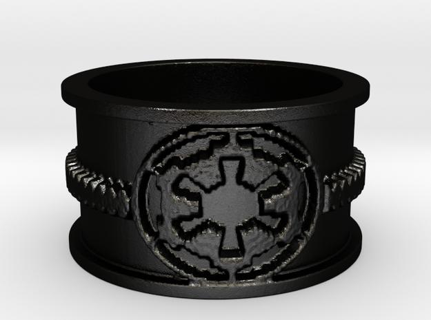 Imp Ring in Matte Black Steel: 7 / 54