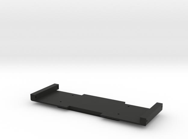 Adafruit Servo Board Holder - Full Cutout in Black Natural Versatile Plastic