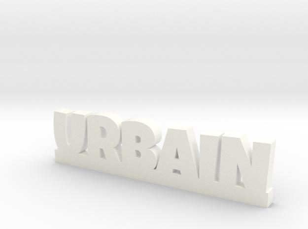 URBAIN Lucky in White Processed Versatile Plastic