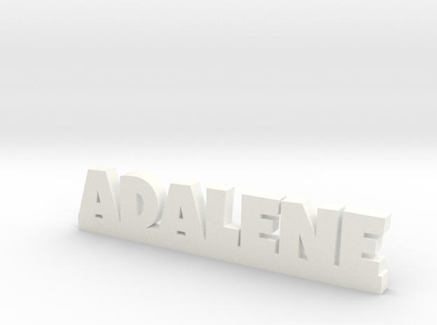 ADALENE Lucky in White Processed Versatile Plastic
