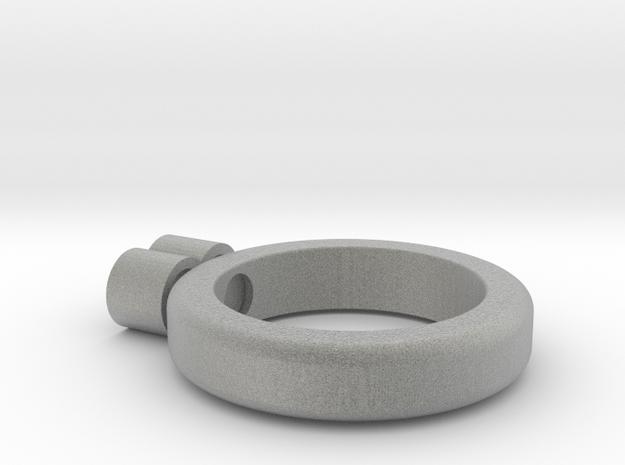 eternity ring in Metallic Plastic