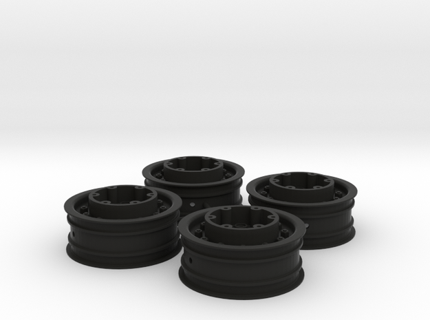 3382 - Tribute 2.2 MT Tote Wheel, 4pc. in Black Natural Versatile Plastic
