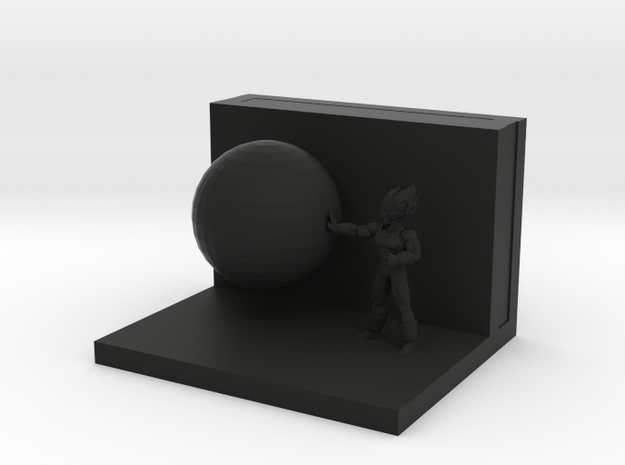 Vegetaaaa in Black Strong & Flexible: Medium