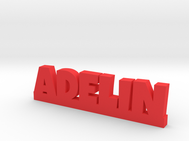 ADELIN Lucky in Red Processed Versatile Plastic
