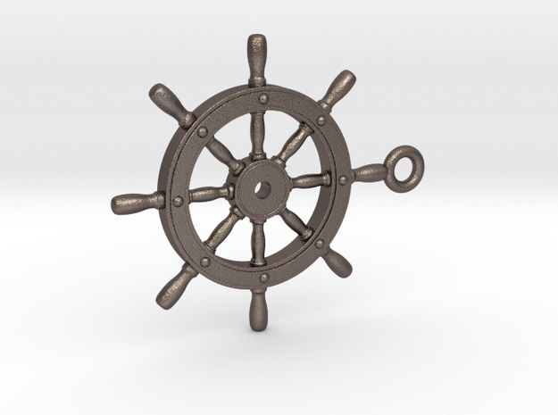 ship wheel Pendant 2