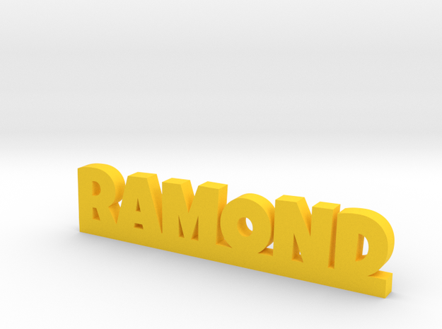RAMOND Lucky in Yellow Processed Versatile Plastic