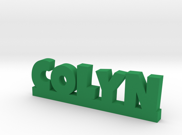 COLYN Lucky in Green Processed Versatile Plastic