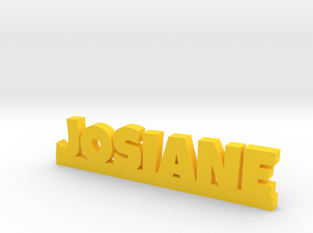 JOSIANE Lucky in Yellow Processed Versatile Plastic