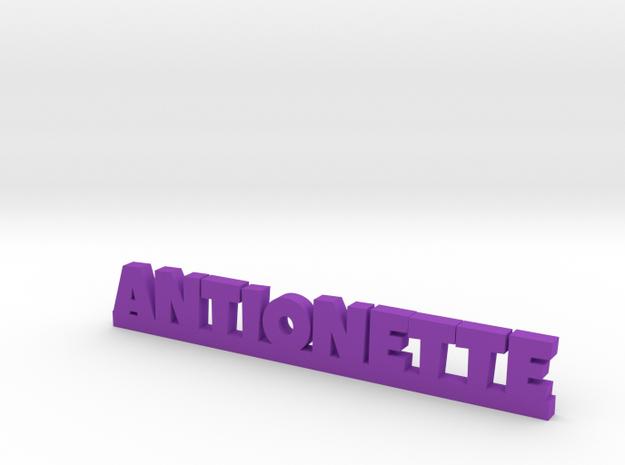 ANTIONETTE Lucky in Purple Processed Versatile Plastic