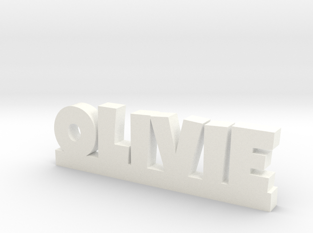 OLIVIE Lucky in White Processed Versatile Plastic