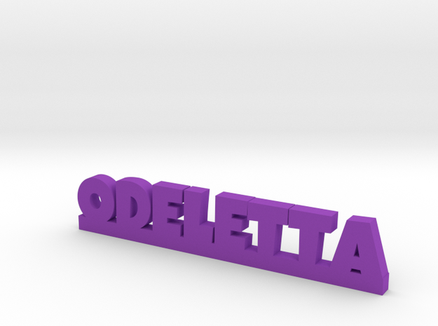 ODELETTA Lucky in Purple Processed Versatile Plastic
