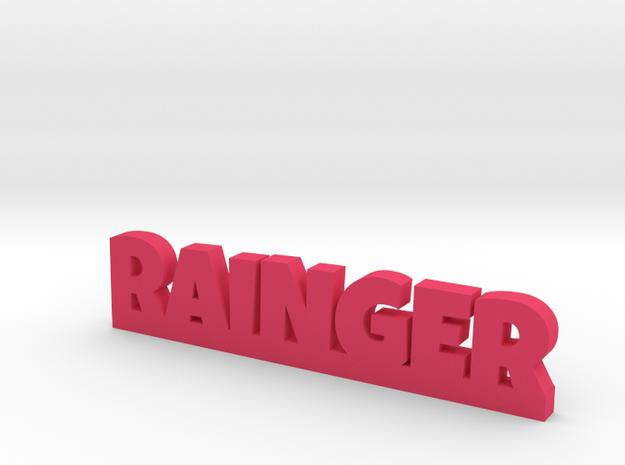 RAINGER Lucky in Pink Processed Versatile Plastic