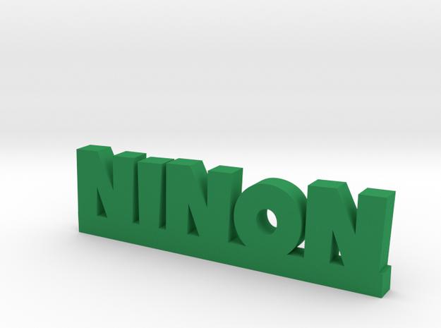 NINON Lucky in Green Processed Versatile Plastic