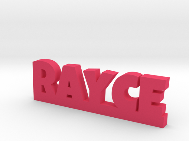 RAYCE Lucky in Pink Processed Versatile Plastic