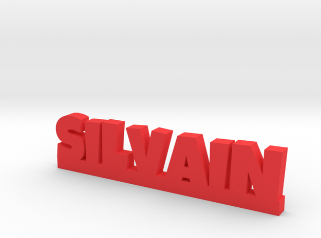 SILVAIN Lucky in Red Processed Versatile Plastic