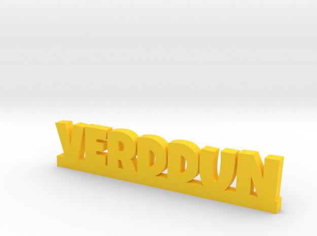 VERDDUN Lucky in Yellow Processed Versatile Plastic