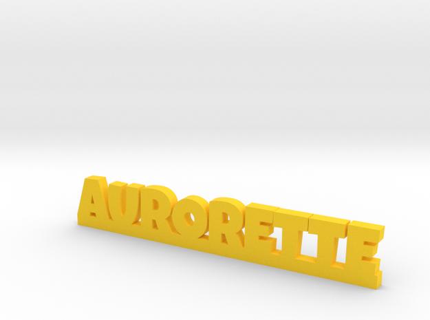 AURORETTE Lucky in Yellow Processed Versatile Plastic