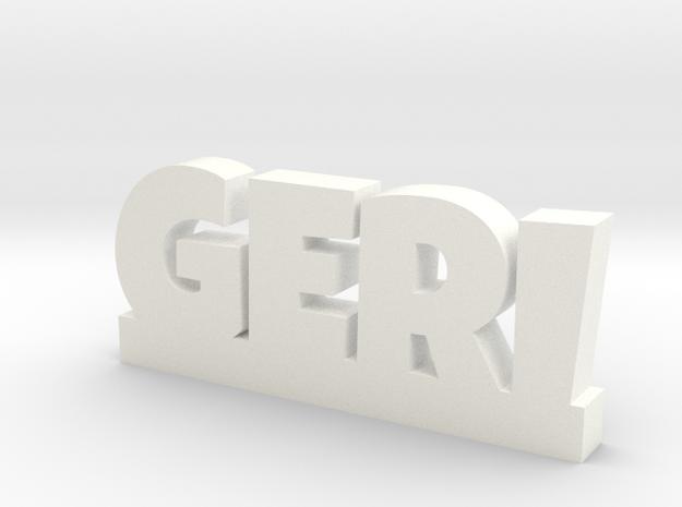 GERI Lucky in White Processed Versatile Plastic